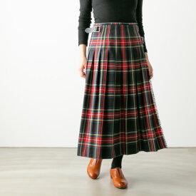 【ブルービート別注】 【クーポン対象外】O'NEIL OF DUBLIN オニール・オブ・ダブリン WRAPSKIRT ウール タック ラップスカート 3色 NOD0853