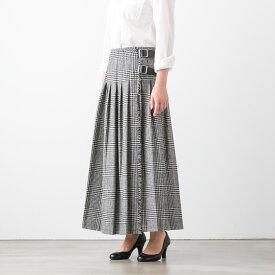 【クーポン対象外】O'NEIL OF DUBLIN オニール・オブ・ダブリン LOW WAIST PLEATS WRAP SKIRT LENGTH 90cm ロング プリーツ ラップ スカート 3色 NOD1881