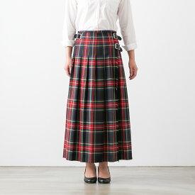 【ブルービート別注】 【クーポン対象外】 O'NEIL OF DUBLIN オニール・オブ・ダブリン LOW WAIST PLEATS WRAP SKIRT LENGTH 90cm ロング プリーツ ラップ スカート 4色 NOD2051