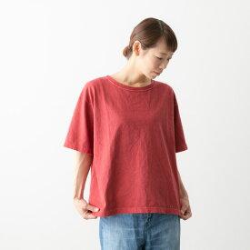 (メール便OK) caqu サキュウ ラウンドネック Tシャツ Round neck T 4色 32001