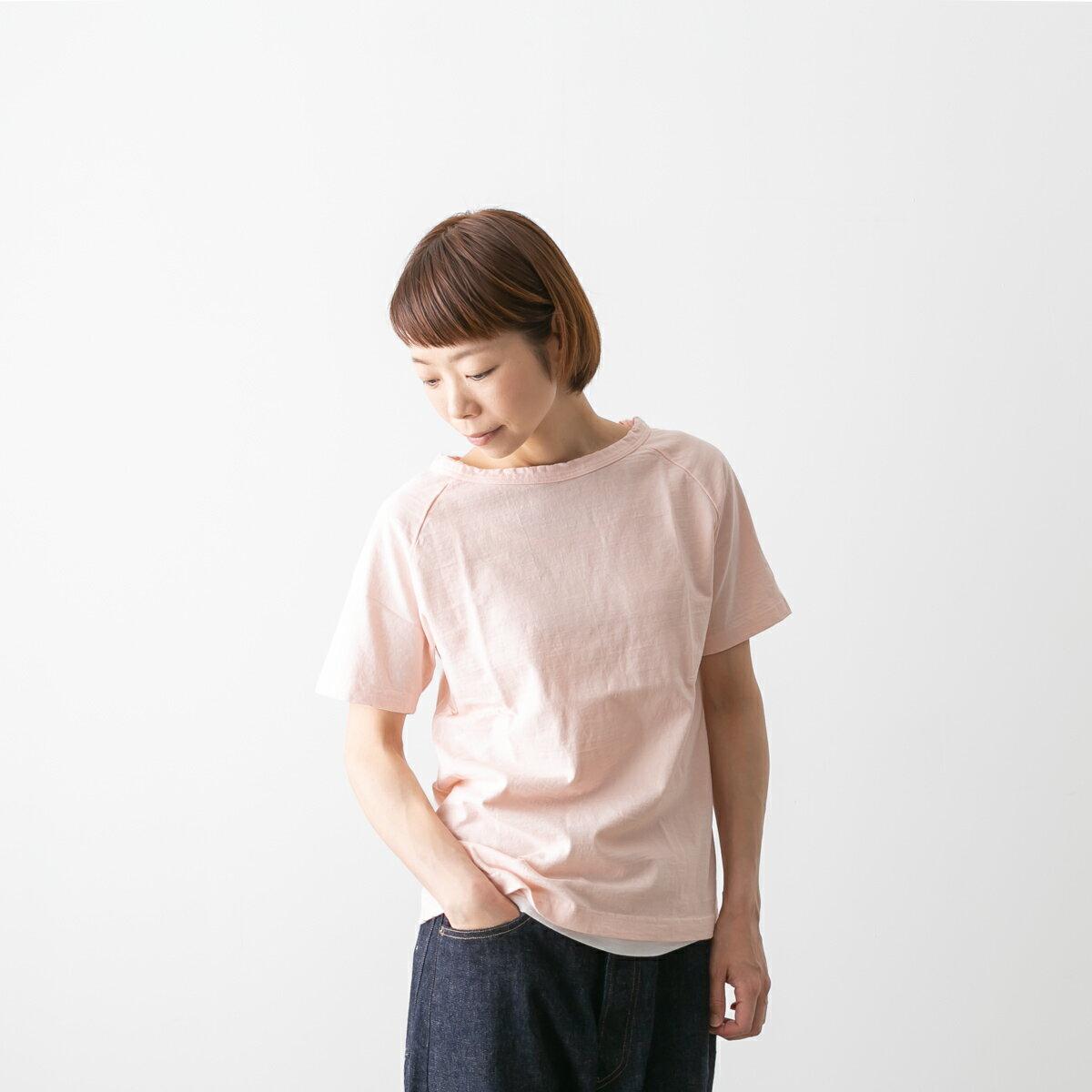 (メール便OK)・DANA FANEUIL ダナファヌル ムラ糸 半袖 無地 カットソー Tシャツ 13色 D-5616205
