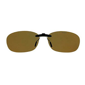 SWANS(スワンズ) サングラス メガネにつける クリップオン 固定タイプ SCP-12 BR2 偏光ブラウン2