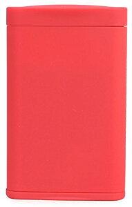 Dreams(ドリームズ) 携帯灰皿 ポケットアッシュトレイ スリム ハニカム 4本収納 レッド MDL45285