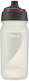 Tacx(タックス) Shanti Twist CLEAR/RED 500 クリアー/レッド サイクルボトル