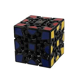 Andux Space ギア スピード キューブ 立体 パズル 不規則 回転スムーズ 3*3*3 ストレス解消 脳トレ ポンプ防止 知育玩具 YXMF-03 (鋸形キュープ(黒)3*3*3)