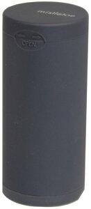 Dreams(ドリームズ) 携帯灰皿 ポケットアッシュトレイ ラバー ハニカム 6本収納 ブラック MDL45117