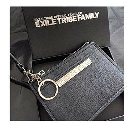 EXILE TRIBE 2WAY多機能レザー パスケース コインケース ストラップ付き グッズ 財布 ウォレット JSB