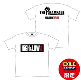 HiGH&LOW THE LIVE 公式グッズ EXILE TRIBE STAITON限定 THE RAMPAGE Tシャツ
