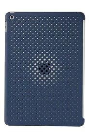 AndMesh iPad 10.2 ケース Mesh Case 放熱 薄型 軽量 純正 スマートカバー スマートキーボード 対応 背面ケース ミッドナイトブルー 612-961011