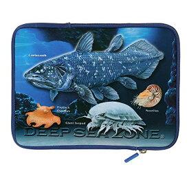 カロラータ タブレットケース(収納ポケット付) 深海生物