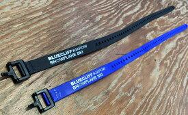 VOILE ボレーストラップブルークリフ スノーフレークスキー #JAPOW オリジナルナイロンストラップ ブラックORブルー1本 25インチ 63cm メール便送料324円