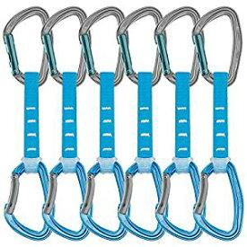 PETZLペツル クイックドロー ジン アクセス 12cm 6本パック ブルー カラビナ M060DA00 クライミング ヌンチャク | ボルダリング ボルタリング ロッククライミング スリング アルミ アルミニウム アウトドア 道具 山用具 登山用具 クライミング用品 登山 登山用品