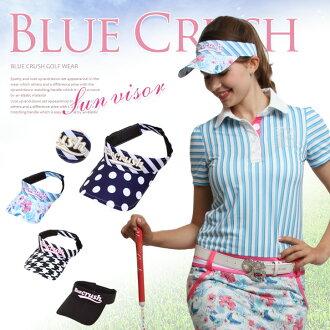 磨损的遮阳板高尔夫马球穿女人衣服女装高尔夫妇女蓝色迷恋马球衬衫蓝色粉碎