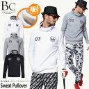 ゴルフウェア メンズ トレーナー スウェット 起毛 暖か プルオーバー 長袖 ゴルフ おしゃれ ゴルフポロ 重ね ブルーク…