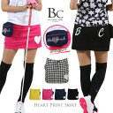 ゴルフウエア レディース スカート ゴルフスカート ゴルフ 定番 インナーパンツ一体型スカート 無地 千鳥 花柄 ドット ボトム おしゃれ golf ブルークラッシュ