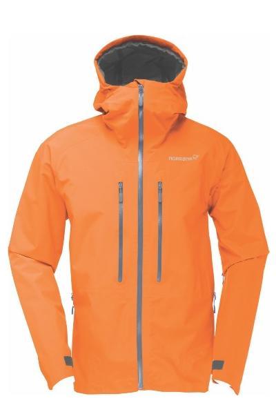 ノローナ トロールベゲン ゴアテックスライトプロジャケット NORRONA trollveggen Gore-Tex Light Pro Jacket (PURE ORANGE)