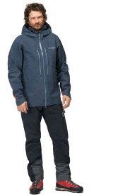 ノローナ トロールベゲン ゴアテックスプロライトジャケット(Cool BLACK) NORRONA trollveggen Gore-Tex Pro Light Jacket (M)ハードシェル/ゴアテックスプロ/アルパイン/バックカントリ—
