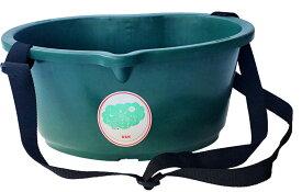 大和技研工業 DGK 散布桶 12型 Beans モスグリーン 送料無料