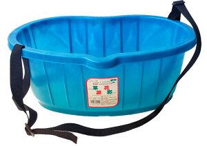 散布用桶 収穫かご 【DGK 散布桶 25型 10個 ブルー】業者様限定 大和技研工業 送料無料