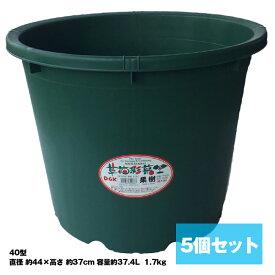 大型 鉢栽培 植木鉢【DGK 草花採菜 果樹 40型 5個セット】大和技研工業 送料無料