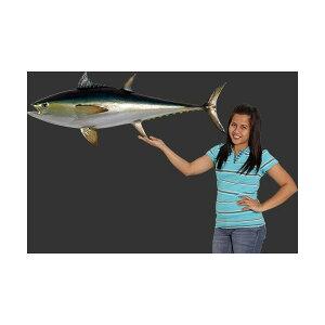 代引不可-全長114cm!ブルーフィン まぐろ マグロ 鮪 tuna figure blue fine fish 巨大フィギュア・壁掛けタイプ(等身大フィギュア) 店舗/店頭/看板/オブジェ/ディスプレイ/シンボル/置物/アート送