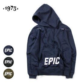 【セール】【30%OFF】1975 TOKYO EPIC P/O HOODY メンズ/レディース ネイビー/ブラック/カーキ M-XL【サーフ ブランド 紺 黒 オリーブ】