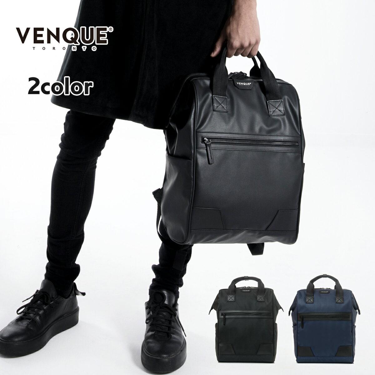 VENQUE ヴェンク AIRLIGHT バックパック メンズ/レディース ブラック/ブルー OS