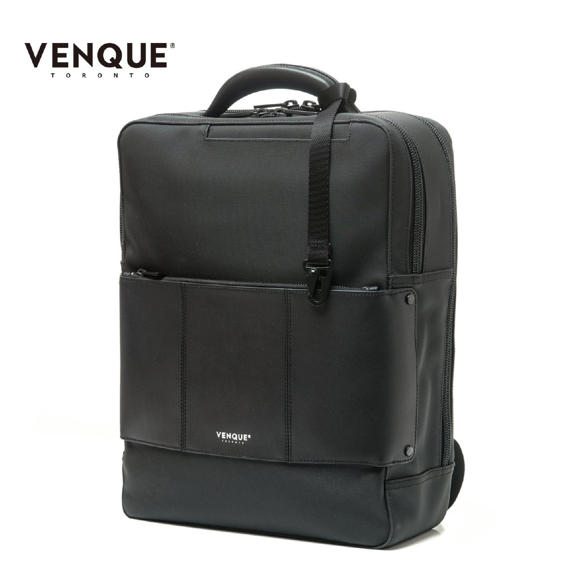 VENQUE ヴェンク CIENI BACKPACK メンズ/レディース カーボンブラック OS