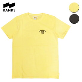 BANKS バンクス TOUR TEE メンズ/レディース イエロー/ブラック S-L OOO