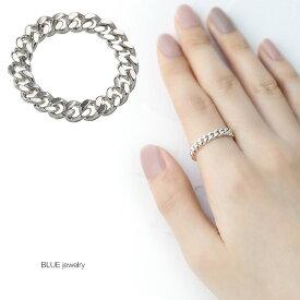 シルバー925 リング チェーン リング 指輪 人気 パーティー レディース アクセサリー 女性 大人 彼女 誕生日 プレゼント メール便無料