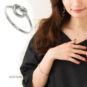 シルバー925 リング 指輪 結び目 ノット ハート 人気 上品 可愛い シルバーリング パーティー シルバー シルバー925 レディース アクセサリー 女性 大人 彼女 誕生日 プレゼント