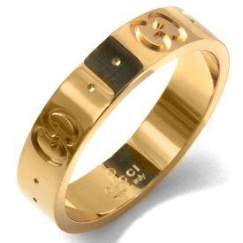 グッチ リング(指輪) アクセサリー メンズ レディース GGアイコン イエローゴールド 073230 09850 8000 GUCCI