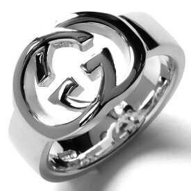 859b0b8c4c10 グッチ リング【指輪】 アクセサリー メンズ レディース インターロッキングG シルバー 190483 J8400 8106 GUCCI