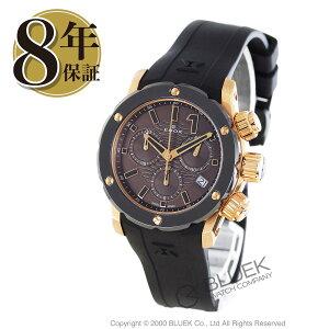 エドックスクロノオフショア1クロノレディクロノグラフ300m防水腕時計レディースEDOX10225-37R-BRIR