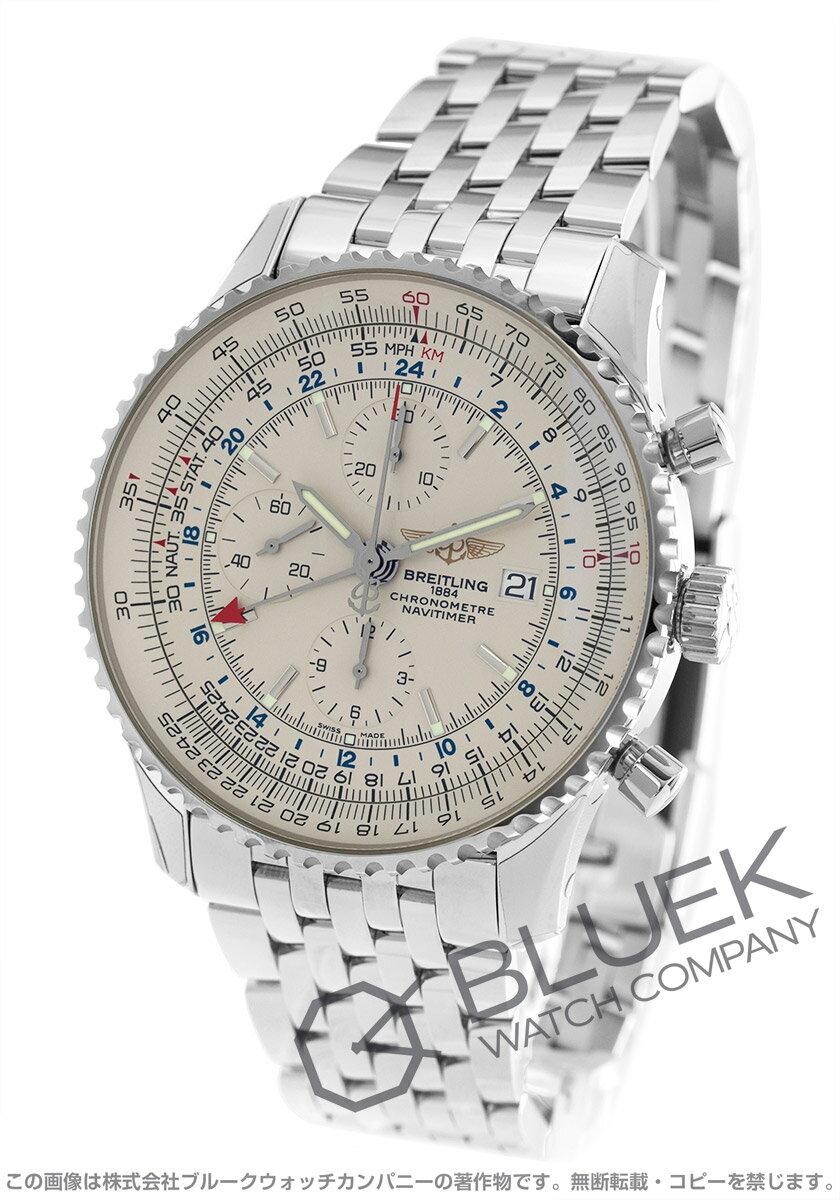 ブライトリング BREITLING 腕時計 ナビタイマー ワールド メンズ A242G71NP