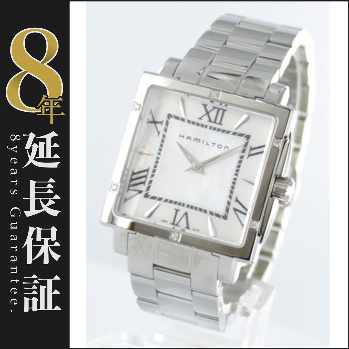ハミルトン ジャズマスター スクエア ダイヤ 腕時計 レディース HAMILTON H32291114_8
