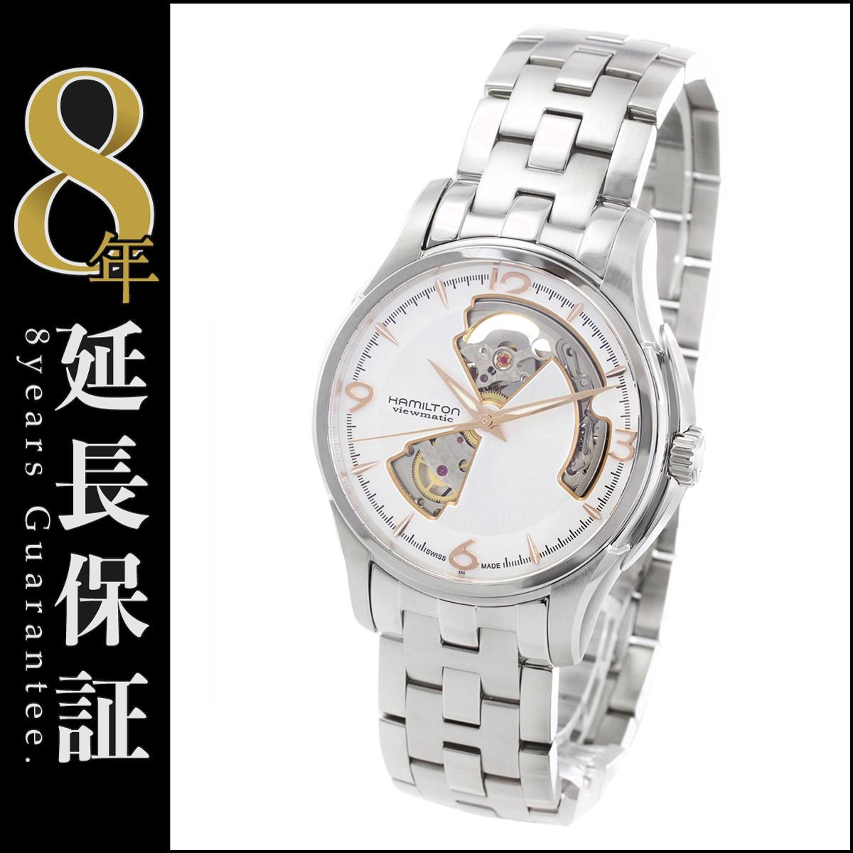 ハミルトン HAMILTON 腕時計 ジャズマスター ビューマチック オープンハート メンズ H32565155_8