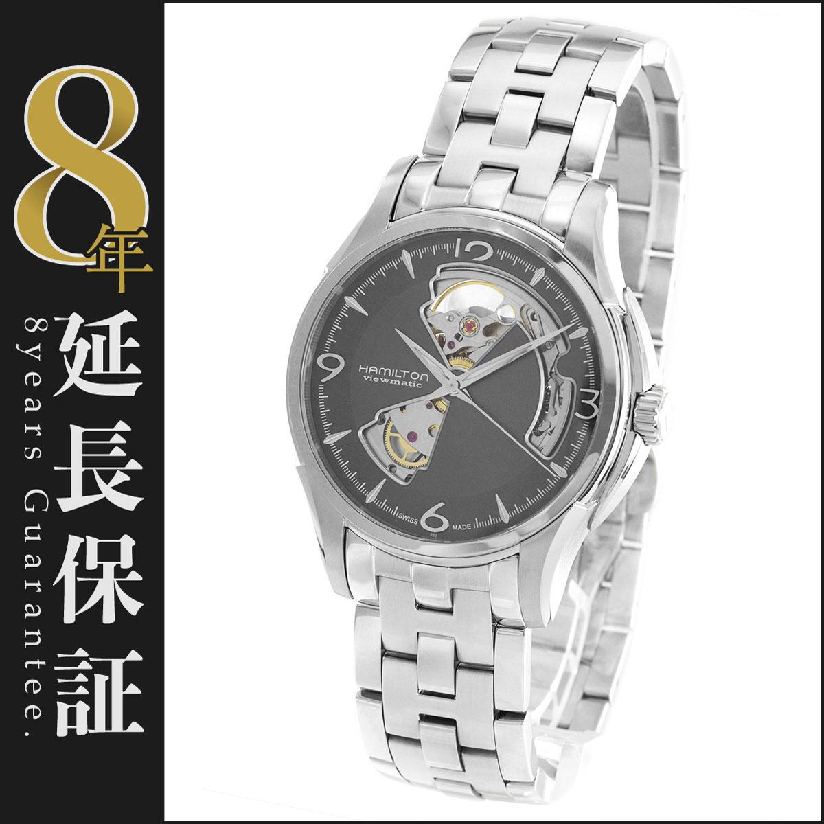 ハミルトン ジャズマスター ビューマチック オープンハート 腕時計 メンズ HAMILTON H32565185_8