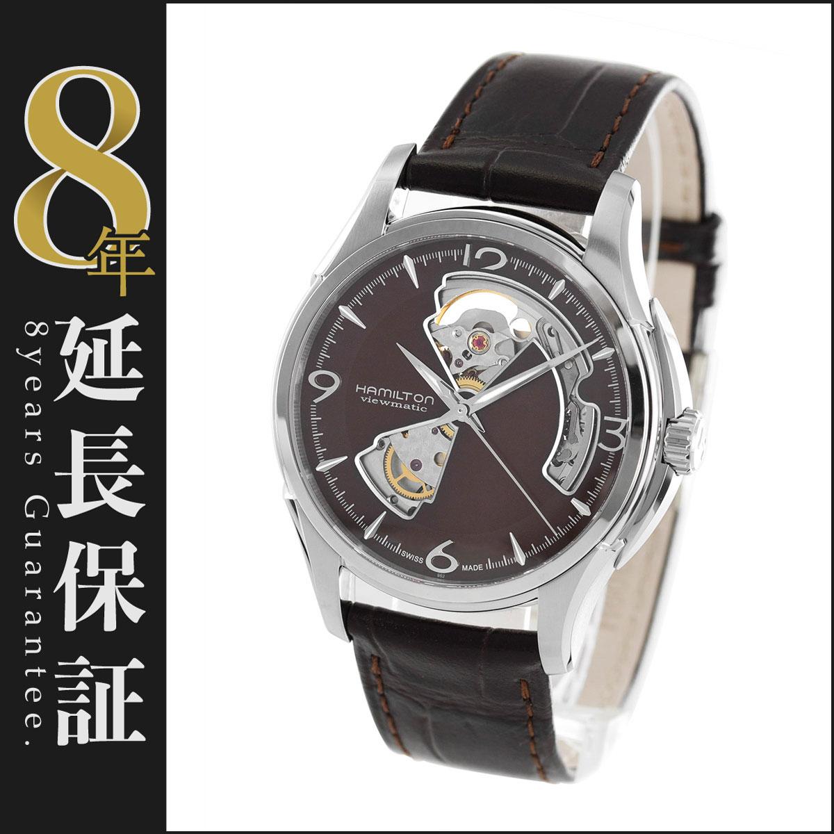 ハミルトン ジャズマスター ビューマチック オープンハート 腕時計 メンズ HAMILTON H32565595_8