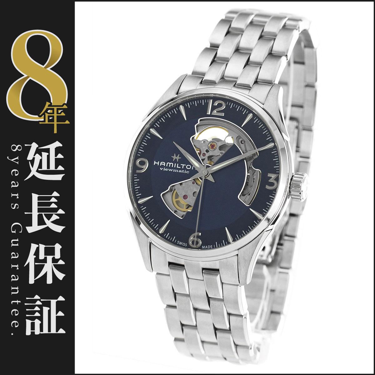 ハミルトン HAMILTON 腕時計 ジャズマスター ビューマチック オープンハート メンズ H32705141_8