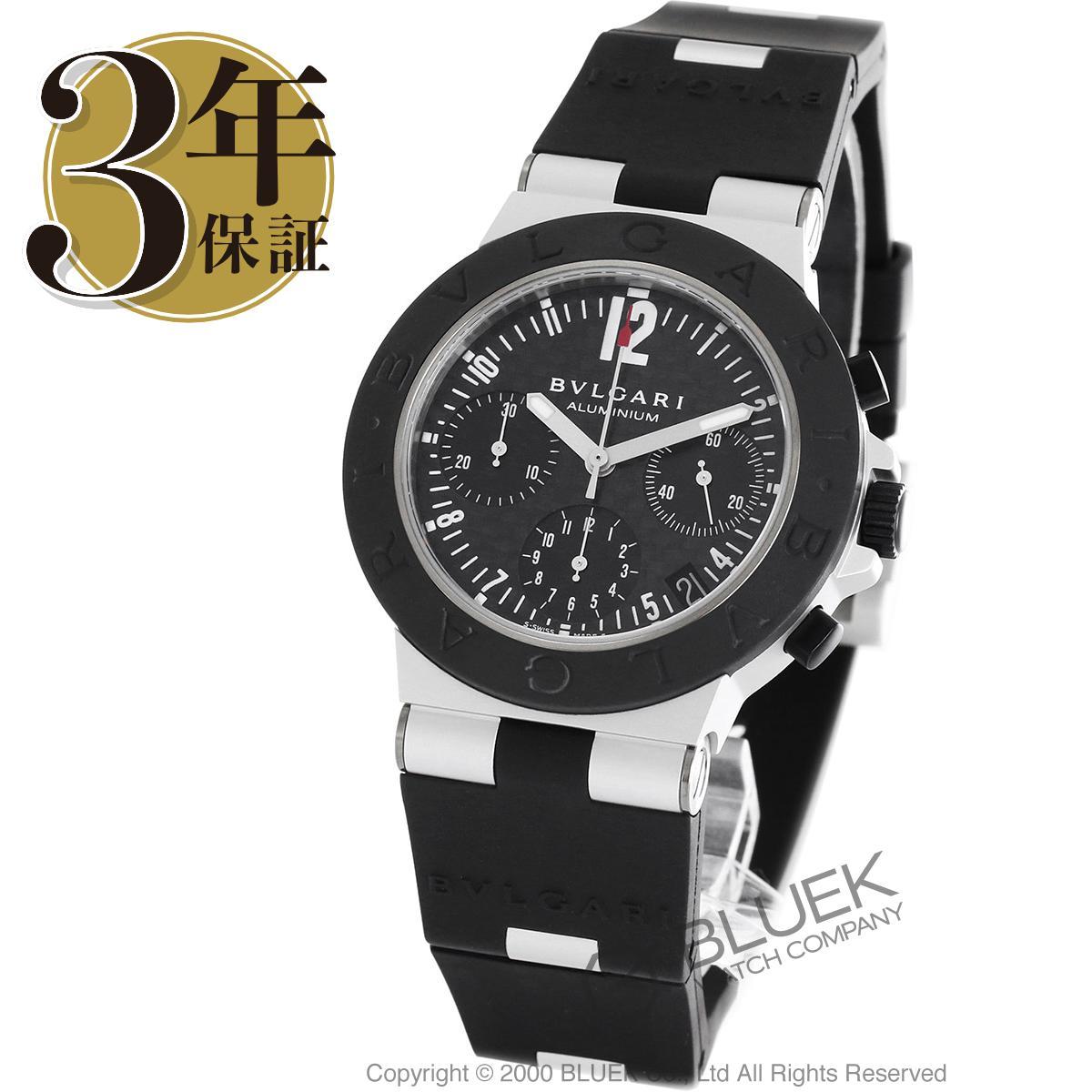 ブルガリ ディアゴノ アルミニウム クロノグラフ 腕時計 メンズ BVLGARI AC38BTAVD_8