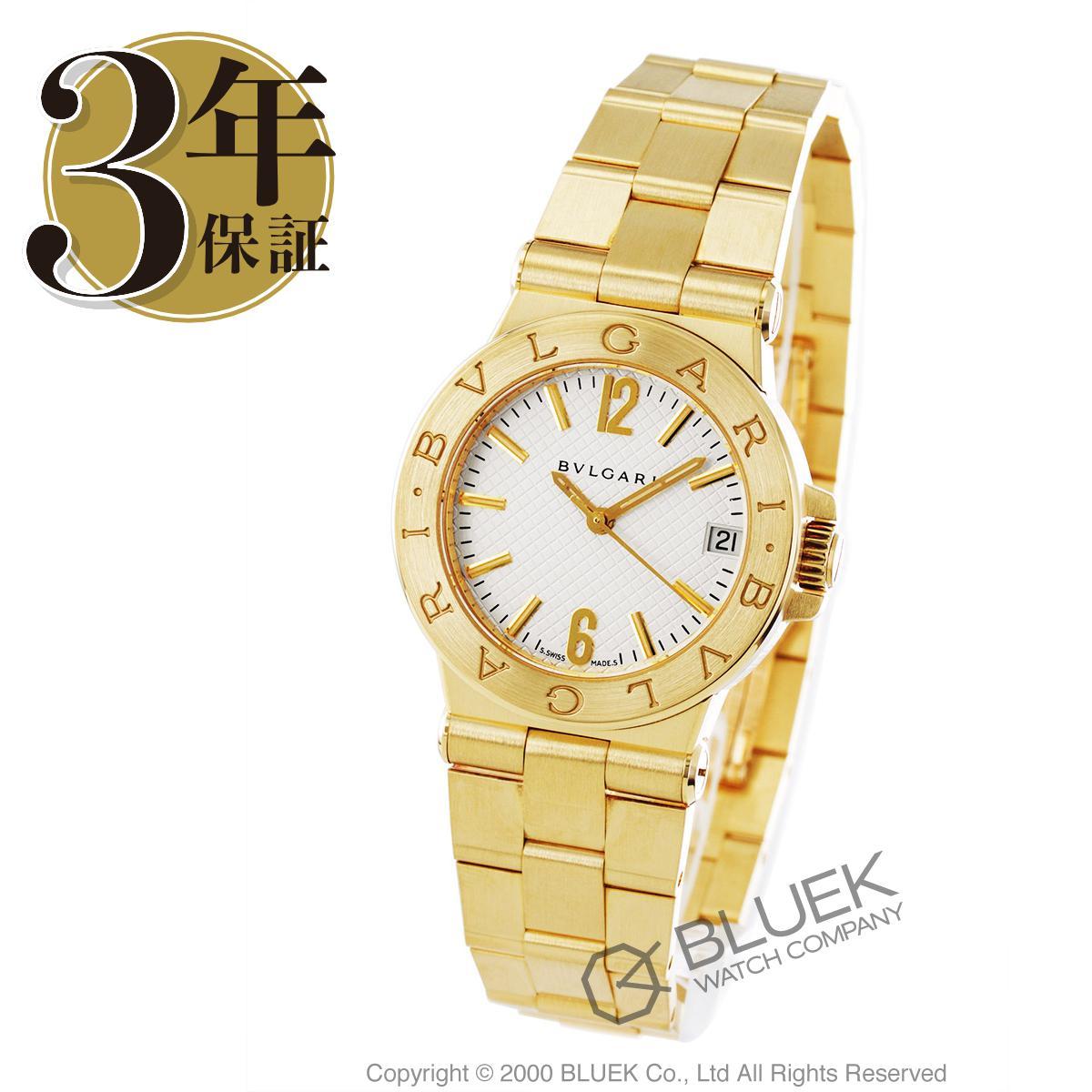 ブルガリ ディアゴノ YG金無垢 腕時計 レディース BVLGARI DG29C6GGD_8
