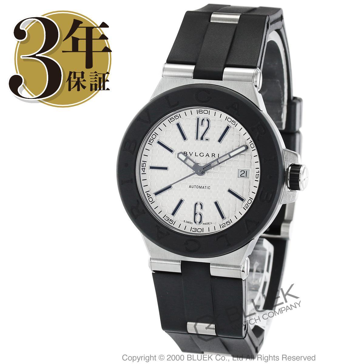 ブルガリ BVLGARI 腕時計 ディアゴノ ラバー メンズ DG40C6SVD_8