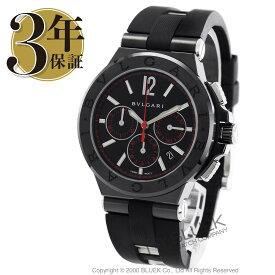 ブルガリ ディアゴノ ウルトラネロ クロノグラフ 腕時計 メンズ BVLGARI DG42BBSCVDCH/1_8