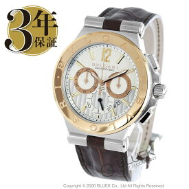 ブルガリ ディアゴノ カリブロ303 クロノグラフ 腕時計 メンズ BVLGARI DG42C6SPGLDCH_8
