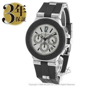 ブルガリディアゴノクロノグラフ腕時計メンズBVLGARIDG42C6SVDCH