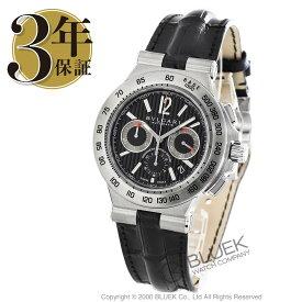 ブルガリ ディアゴノ プロフェッショナル テラ クロノグラフ アリゲーターレザー 腕時計 メンズ BVLGARI DP42BSLDCH_8