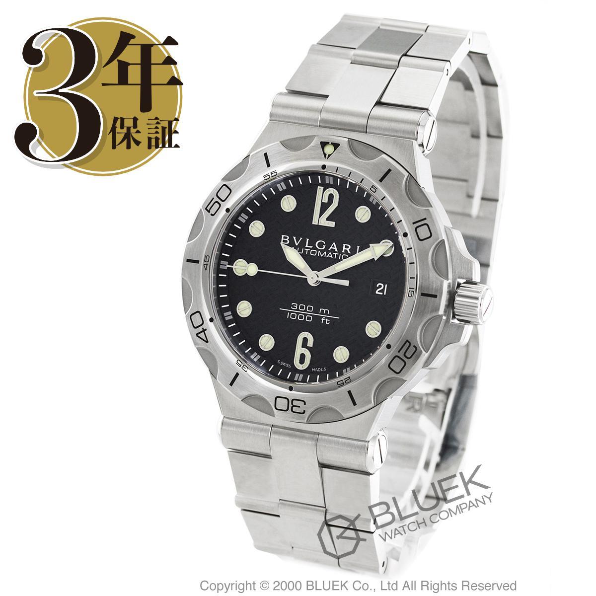 ブルガリ ディアゴノ プロフェッショナル 300m防水 腕時計 メンズ BVLGARI DP42BSSDSDVTG_8 バーゲン ギフト プレゼント