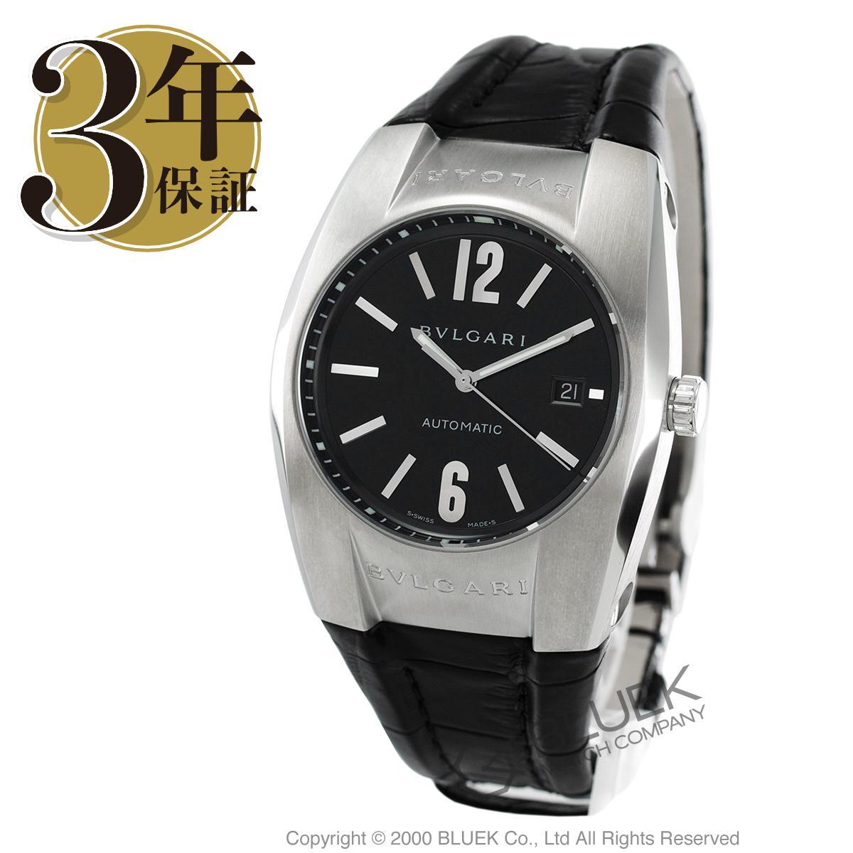 ブルガリ BVLGARI 腕時計 エルゴン アリゲーターレザー メンズ EG40BSLD_8