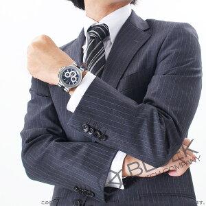 ブルガリディアゴノカリブロ303世界限定500本クロノグラフアリゲーターレザー腕時計メンズBVLGARIDG42C3SLDCH
